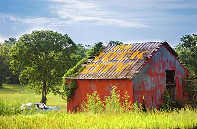 Photograph - See Rock City Barn by Debbie Karnes