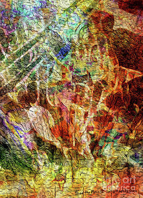 Mixed Media - See The Music 4 by Mike Massengale