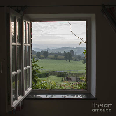 See Through Window Art Print by Compuinfoto