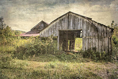 Photograph - See Thru Barn  by Betty Pauwels