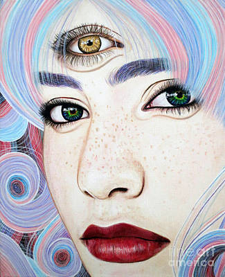 See With Your Soul Art Print by Malinda Prudhomme