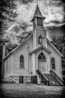 Photograph - Seebert United Methodist Church by Thomas R Fletcher