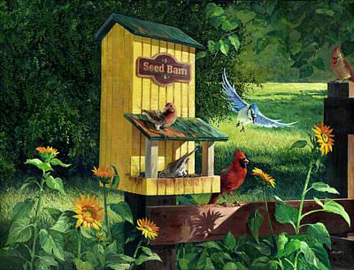 Seed Barn Original by Joseph M  Scott