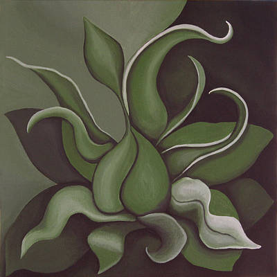 Kelso Painting - Seed by Bonnie Kelso