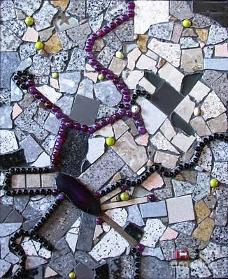 Mosaic Mixed Media - Seed Boulevard by Cristina-Mary Buzamet