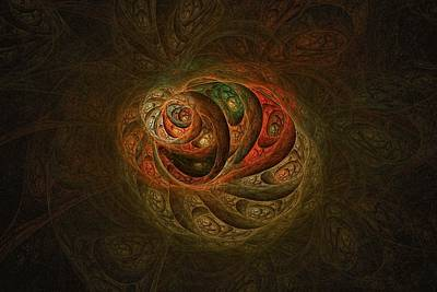 Digital Art - Seed Pods-2 by Doug Morgan