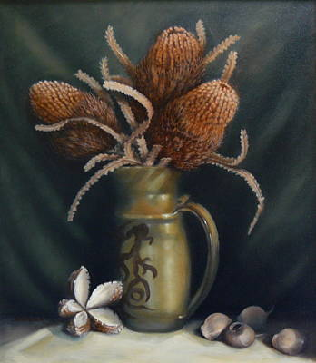 Painting - Seed Pods by Margaret Stockdale