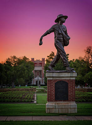 Photograph - Seed Sower by Ricky Barnard