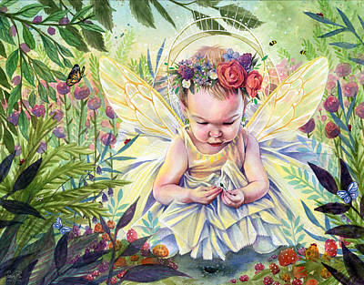 Painting - Seedling by Sara Burrier