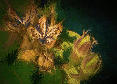 Spikes Photograph - Seeds N Buds by Marvin Spates
