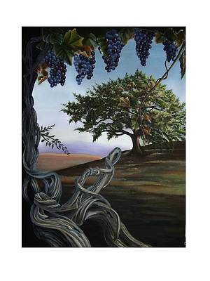 Painting - Seeds Of Eden by Kathleen Romana