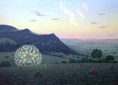 Painting - Seeds  Of Light by Tuco Amalfi