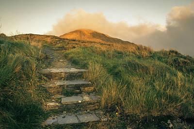 Photograph - Seefin Walk by E j Carr