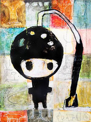 Painting - Numinaut by Ingrid Lill