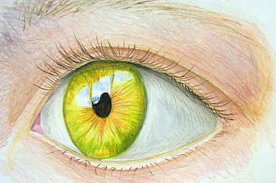 Blending Drawing - Seeing It by Heidi Copeman