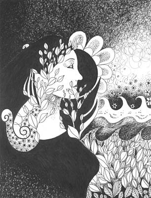 Optimistic Drawing - Seeing Light by Helena Tiainen