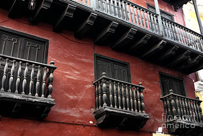 Photograph - Seeing Red In Cartagena by John Rizzuto