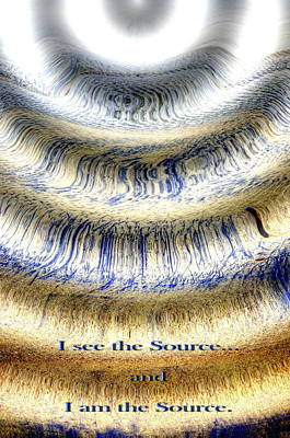 Photograph - Seeing The Source by Richard Omura