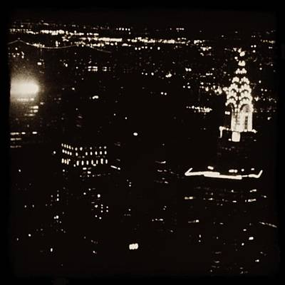 New York City Skyline Wall Art - Photograph - Empire State by Laurie White