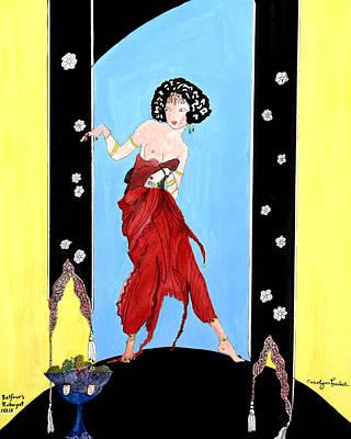 Rubaiyat Painting - Seeker by Carolynn Fischel