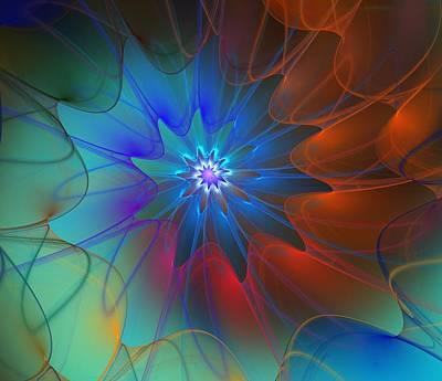 Digital Art - Seeking Centerdness  by David Lane