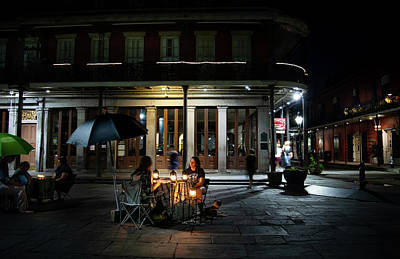 Photograph - Seeking Knowledge At Jackson Square by Greg Mimbs