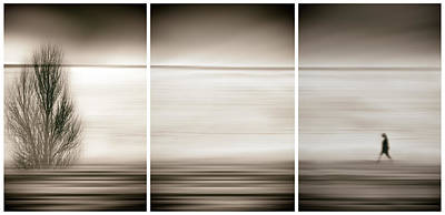Triptych Photograph - Seeking The Invisible by Paulo Abrantes
