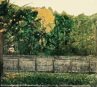 Seekonk Farm Art Print