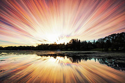 Photograph - Seeleys Bay Explosion by Matt Molloy