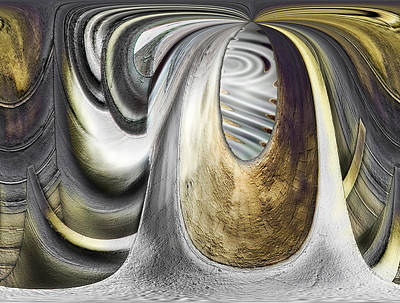 Digital Art - Seen In Stone by Wendy J St Christopher