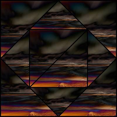 Digital Art - Seesee by Karo Evans