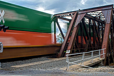 Photograph - Seethrough Train by Bill Jordan