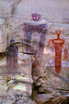 Sego Canyon Barrier Canyon Style Rock Art Original by Ron Brown Photography