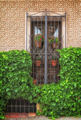 Photograph - Segovia Window by David Cote
