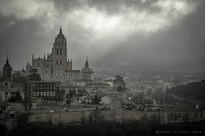 Photograph - Segovia's Cathedral by Henri Irizarri