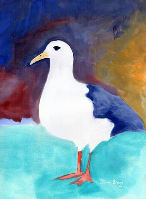 Painting - Segull From Anacortes 1 by Janel Bragg