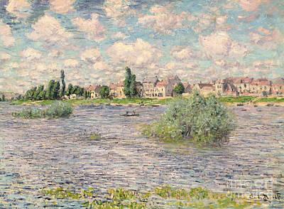 Seine At Lavacourt Art Print