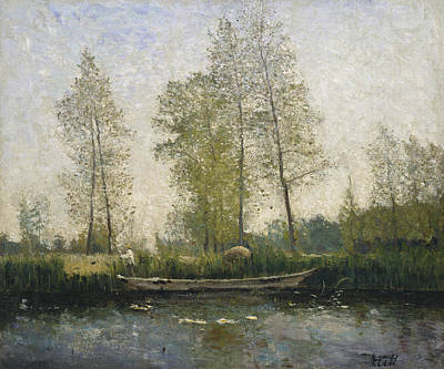 Painting - Seine. Motif From St Germain by Carl Fredrik Hill