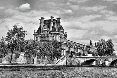 Photograph - Seine River - Paris by RayZa Photography