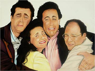 Seinfeld Painting - Seinfeld by Douglas Fincham
