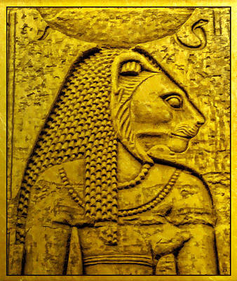 Photograph - Sekhmet by Nigel Fletcher-Jones