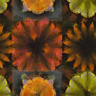Tenn Painting - Seld Exposed Flowers  Id 16164-224201-40700 by S Lurk