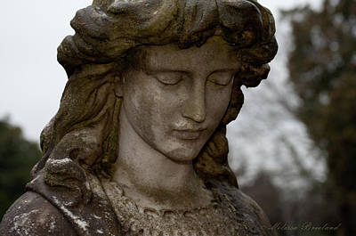 Elmwood Cemetery Photograph - Selected Maiden by Melissa Wyatt