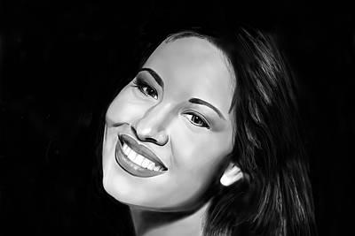 Selena Art Print by Brian Broadway