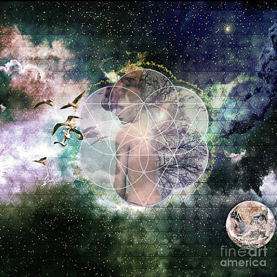 Self Discovery Digital Art - Self Discovery Metaphysical Enlightenment by MetaProduct