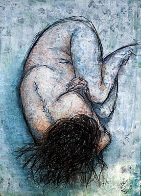 Painting - Self-hug by Nicole Philippi