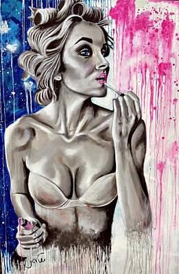 Makeup Painting, Lipgloss Original by Jevie Stegner