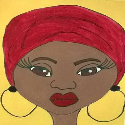 Drawing - Self-love by Yvonne Carson