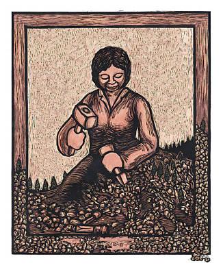 Self Made Woman Art Print by Ricardo Levins Morales