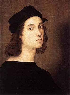 Raffaello Santi Painting - Self-portrait - C. 1506 by Raphael